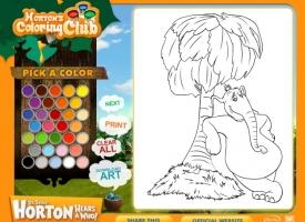 Horton Boyama Kitabi Oyunu Oyna Horton Boyama Kitabi Oyun