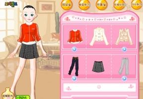 Puanlı giysi giydirme 53