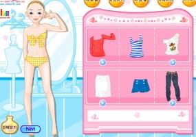 Puanlı giysi giydirme 48