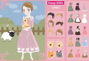 Çiftlik kızı
